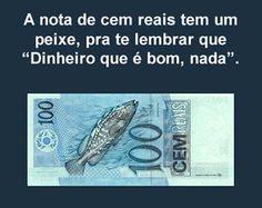 dinheiro nadando