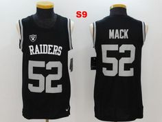 Men 52 Khalil Mack Jersey Football Oakland Raiders Jersey. FoBallstore ee0ffe05a