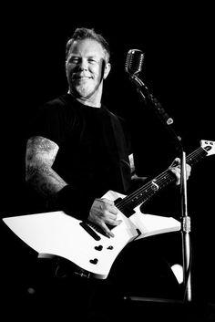 James Hetfield Smile