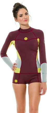 Surfer Girl. Roxy 2MM Long Sleeve Booty Cut Springsuit wetsuit http://www.swell.com/New-Arrivals-Gear/ROXY-2MM-LS-BOOTY-CUT-SPRINGSUIT?cs=MA
