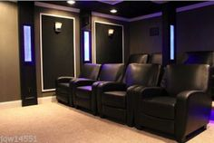 Home theaters allow you to experience the luxury of watching films as you would do in a movie hall with HD picture quality, surround sound, dim lights