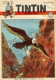 Journal de TINTIN édition Belge N° 35 du 28 Août 1947