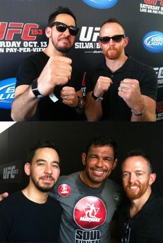 Mike & Phoenix at UFC #MMA #UFC #Fight 8531 Santa Monica Blvd West Hollywood, CA 90069 - Call or stop by anytime. UPDATE: Now ANYONE can call our Drug and Drama Helpline Free at 310-855-9168.