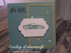 Carolyn's Card Creations: Lost Lagoon Joy Ride Card
