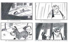 Original Storyboard From How The Grinch Stole Christmas Artist