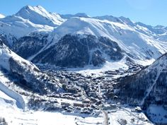 Val d'isere, France. Went skiing here in Dec of 2010. Loved it. A truly amazing place!