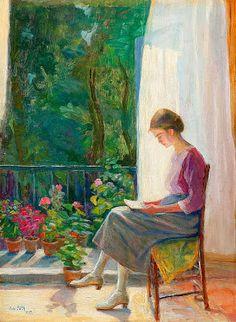 Reading and Art: Ada Góth-Löwith