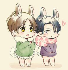 attack on titan : Bunny Boyfriends -Fu
