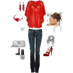 Love this...would be another great Valentine's day outfit!!!