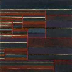 Klee, Paul - 1929 In the Current Six Thresholds (Solomon R. Guggenheim Museum)