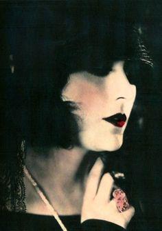 Pola Negri, Hand Tinted Portrait, 1920s