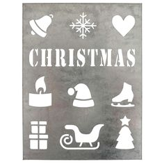 Metal sheet Christmas - Ib Laursen