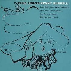 Andy Warhol: album cover for Kenny Burrell