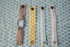 Grand Design: Fabric watch bands
