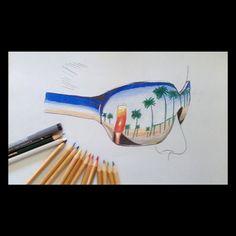 Mi dibujo de unas gafas de sol.✏☀