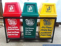 Estetyczne kosze do segregacji śmieci