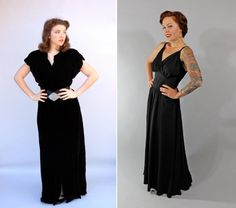 40s clothes hollywood glam black dresses | 21 Reasons 1940's Fashion Are Still Hot and Fab! Vintage Fashion Trends