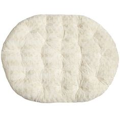 Papasan Double Cushion - Fuzzy Sand