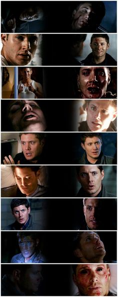[gifset] Dean first and last appearance through the seasons. #SPN #Dean