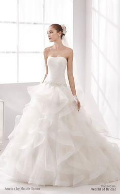 Aurora by Nicole Spose 2016 Wedding Dress