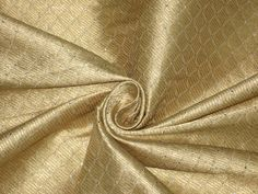 Silk Brocade Fabric Dull Gold Silver Metallic Gold 44 | eBay cloth of gold? :D
