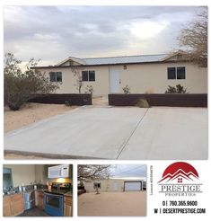 #ForLease - Available to view soon!  3493 Utah Trail 29 Palms, CA 92277  $995/month*  This three bedroom two bath home comes with a detached two car garage, carpet throughout, granite countertops, W/D hookups, extra storage, and so much more!   Call for details and appointments by clicking on our profile Prestige Properties!  🏘 PRESTIGE PROPERTIES - DESERT CITIES Lic. # 01954678 ☎️ 760.365.9600 🌎 DesertPrestige.com   #PrestigeProperties #TeamPrestige #PropertyManagement #Properties…