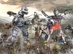 Battle of Castle Anorak Fanart : readyplayerone Ready Player One Book, Ya Novels, Art Base, Pixel Art, The Book, Pop Culture, Battle, Fan Art, Crossover