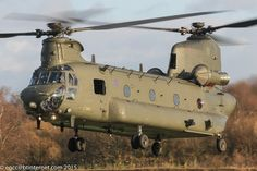ZH891 - 2001 build Boeing-Vertol Chinook HC.4, departing from Barton in superb…