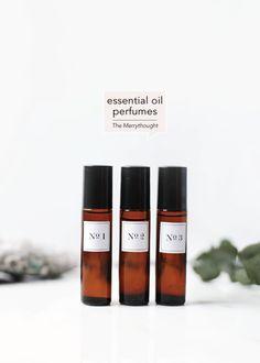 DIY Essential Oil Perfumes