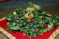 Kale Salad with Maple Lemon Dressing