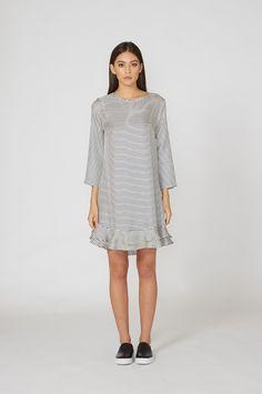 harper dress / ivory - Clothing | moochi
