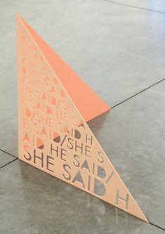 Paper-cut card by Matt Keegan.