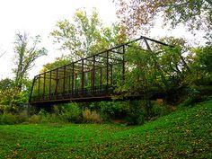 Iron Truss Bridge