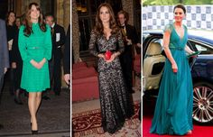 A selection of the most stylish fashion choices by Catherine, Duchess of Cambridge, over the years. Looks Kate Middleton, Duchess Of Cambridge, Dresses With Sleeves, Formal Dresses, Stylish, Long Sleeve, Fashion, Gowns With Sleeves, Moda