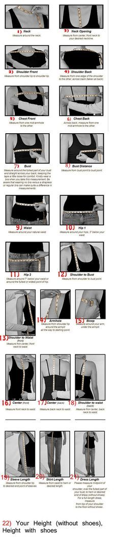 Measurement tips by RenzRags on Etsy, $1.00