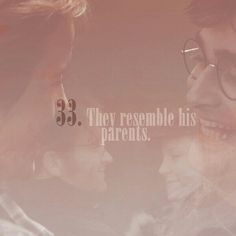 33. Thet resemble his parents.   101 reasons to ship Harry and Hermione.