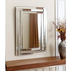 Abbyson Living Pierce Rectangle Wall Mirror