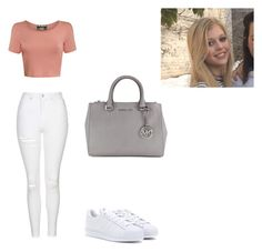 Loren beech 2 by ciaramariekilkenny on Polyvore featuring polyvore, fashion, style, Pilot, Topshop, adidas, Michael Kors and clothing