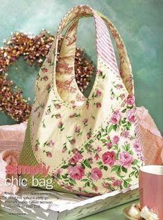 Artesanato Passo a Passo: Bolsa Chi Bag.    Bag w/pattern