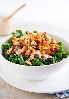 The Jackson Bowl with vegan comeback sauce