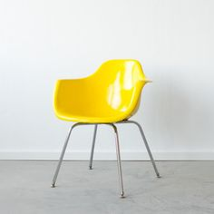 Molded Fiberglass Chair Sunshine, $310, now featured on Fab.