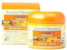 Avalon Organics Renewal Facial Cream Vitamin C