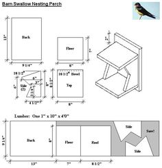 Bird House Plans Bird house plans Make this easy DIY bird house from a single pine board Purple Martins The basis of the 2 birdhouse is a 6 wide Dog Eared Cedar Picke