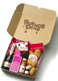 B dia Food Gifts, Diy Gifts, Valentine Day Love, Valentines, Ideas Aniversario, Sweet Box, Idee Diy, Holidays And Events, Boyfriend Gifts