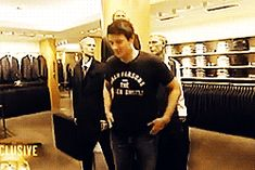 """Cory Allan Monteith — corydune: cory buys a suit """"maybe i could..."""