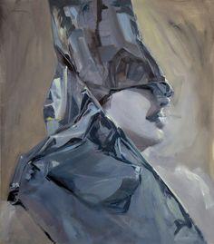 Sheba I. 2013. oil on canvas 80x70 cm