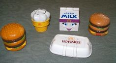 McDonald's Happy Meal Transformer Food Toys #80's