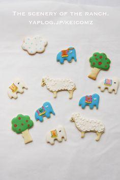 もうひとつの牧場シリーズなアイシングクッキー。 :: ゆるり。× KAKERU*|yaplog!(ヤプログ!)byGMO