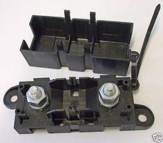 12V amp 24V Power Distribution Box Heavy Duty Mega Midi