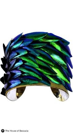 ~Beetle wing cuff bracelet | The House of Beccaria